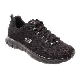 SKECHERS - SKECHERS WOMENS SYNERGY - SAFE & SOUND 11972 BBK