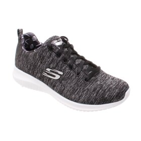 SKECHERS - SKECHERS WOMENS ULTRA FLEX - SHORELINE 12834 BKW