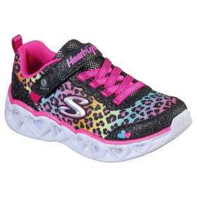 SKECHERS - Skechers Girls Heart Lights 302145L BKMT